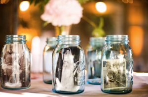 Mason jar adornment is one way to deal with stress