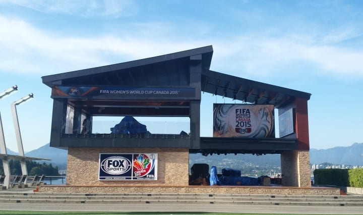 Fox_Sports_studio_in_Vancouver_for_2015_FIFA_Women's_World_Cup_(18875089463)