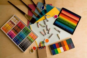 Pic of art materials