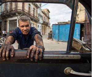 With cars from the 1950s and earlier, every Cuban is a part-time mechanic.