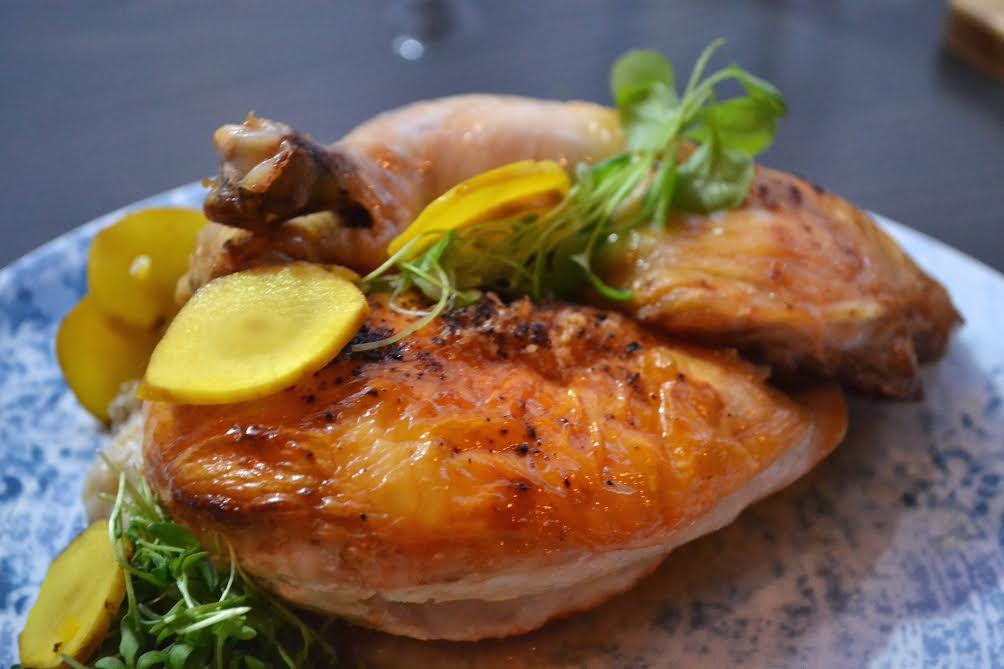 Roasted chicken (En Boca).