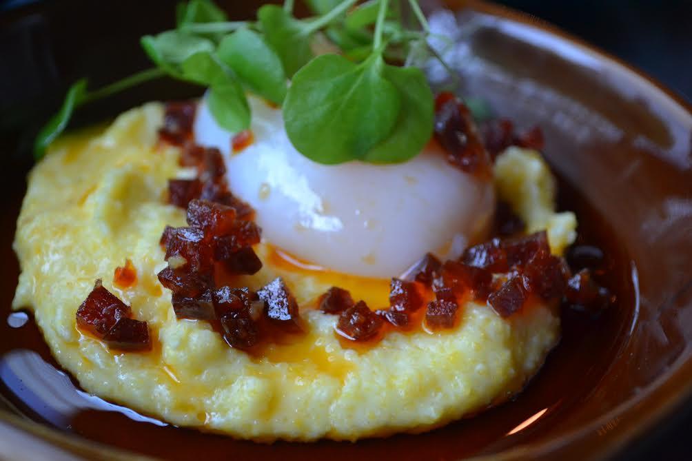 Baked farm egg (En Boca).