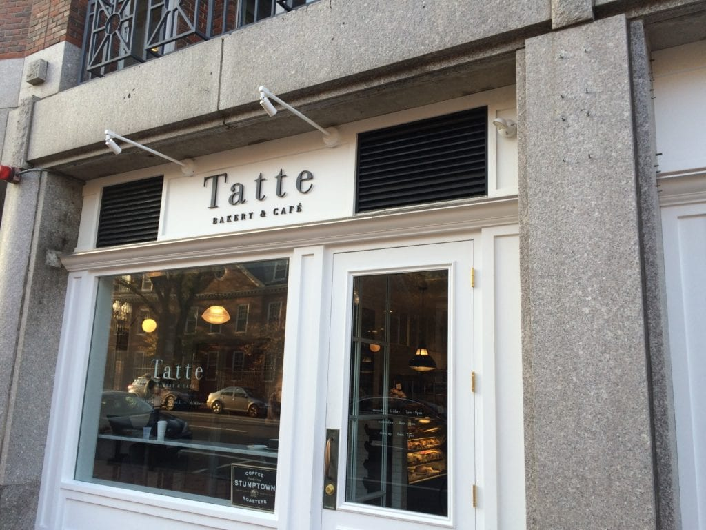 Tatte on Mass Ave.