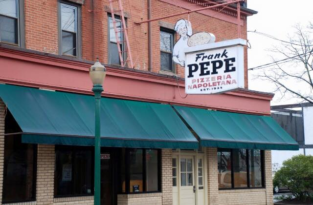 Pepe's in New Haven.
